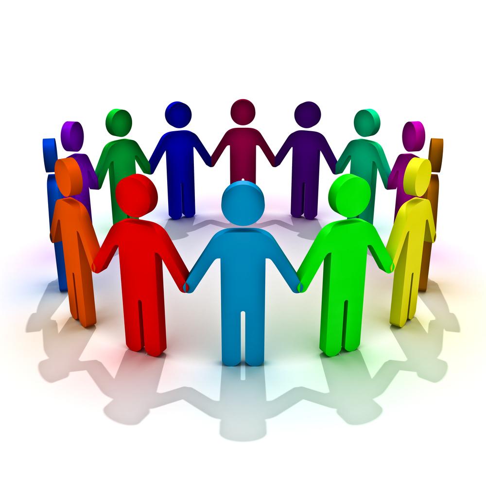 mensen in cirkel | Logopediecentrum